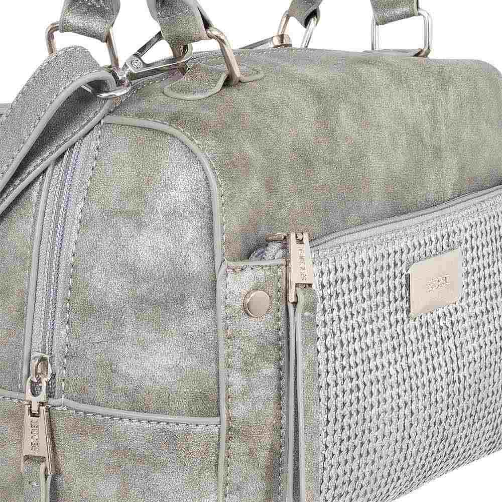 Cartera Atlanta Ss20 Satchel Bag Grey M