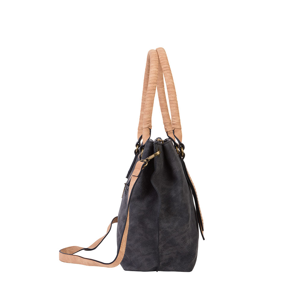 Cartera Birmania Tote Black L