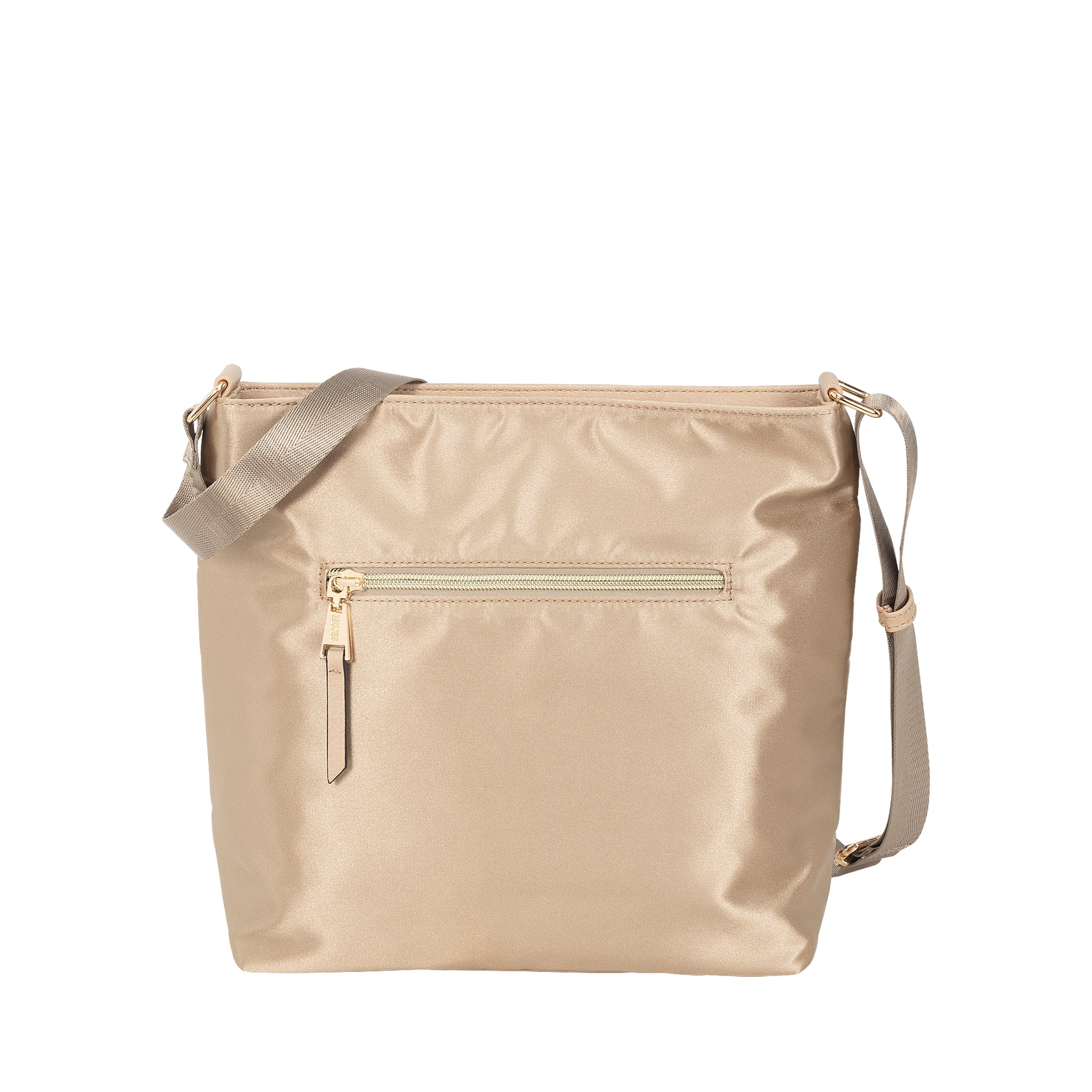 Cartera Barein Cross Bag Light Gold L