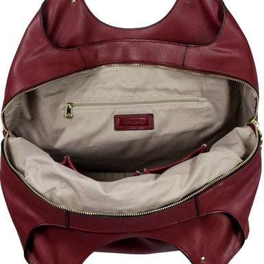 Cartera Sphinx Hobo Bag 3 Comp Dark Bordeaux