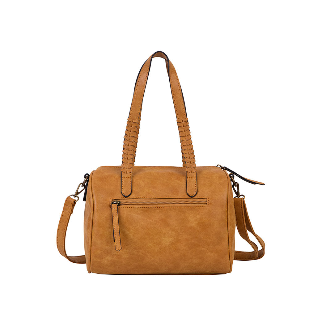 Cartera Chad Satchel Camel M