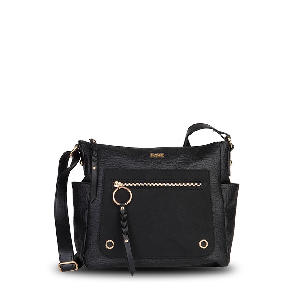 Cartera Cork Fw20 Cross Bag Black L