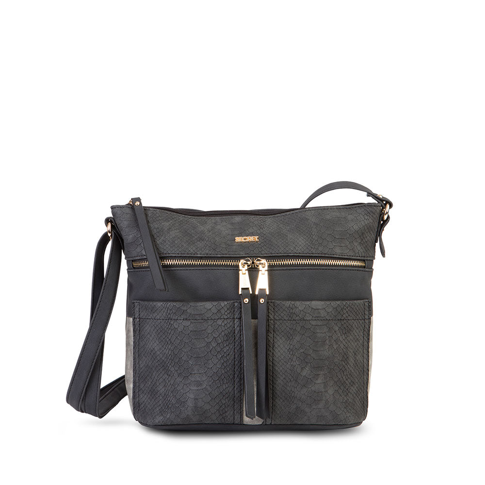 Cartera Ribe Fw20 Cross Bag Black L