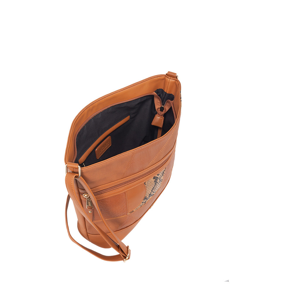 Cartera Santander Cross Bag Brown L