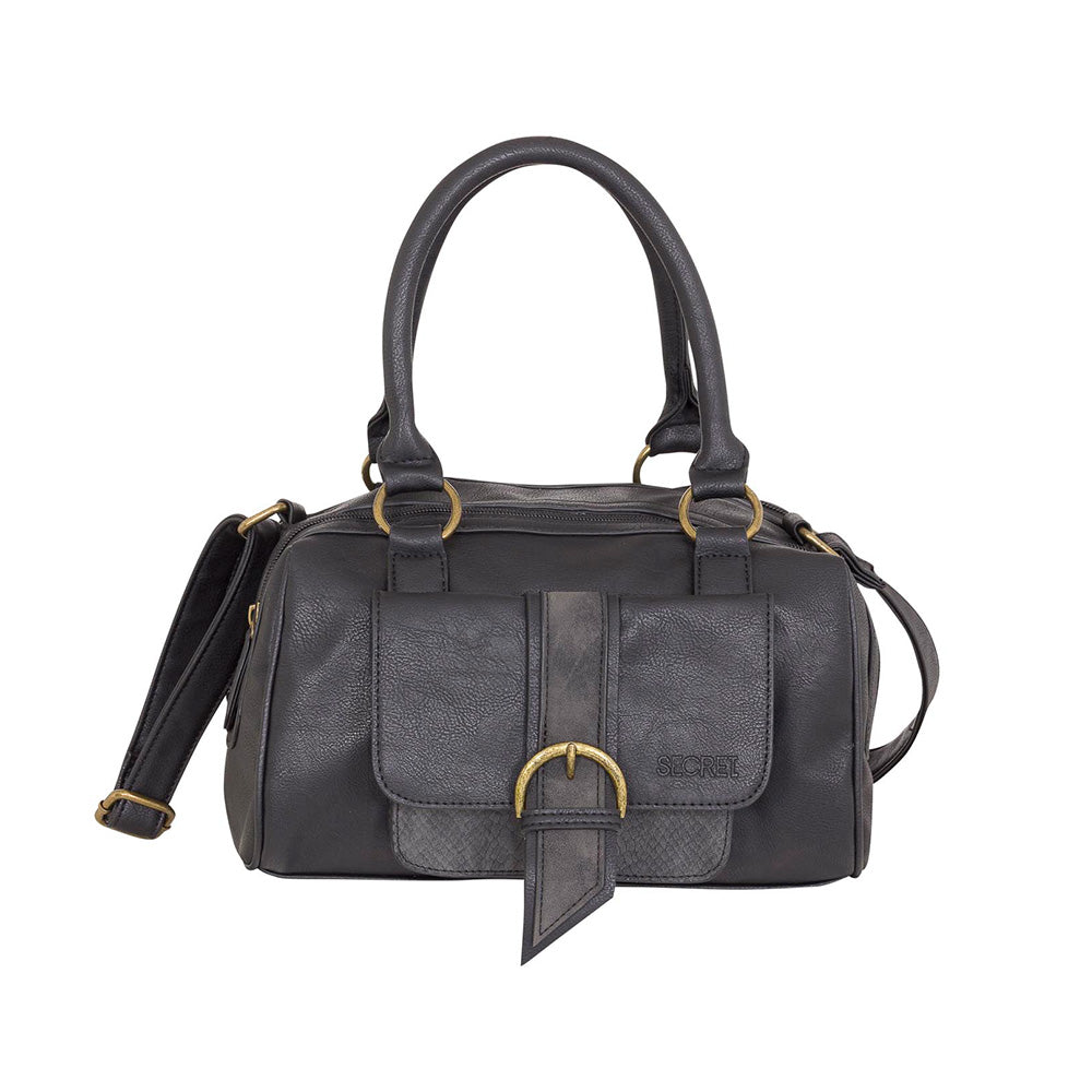 Cartera Detroit Satchel Bag Negro M