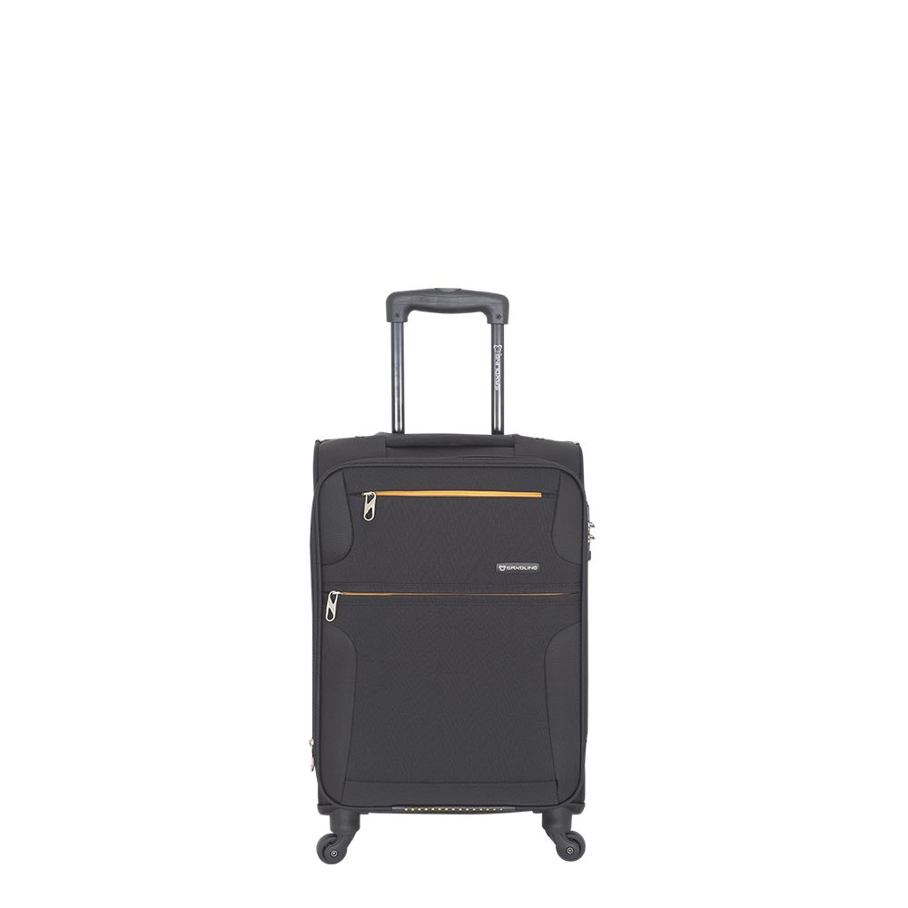 Maleta Blanda Bombay Light Spinner 55/20 Black Cabina