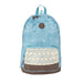 Mochila Pop 939 Light Blue Paisleys