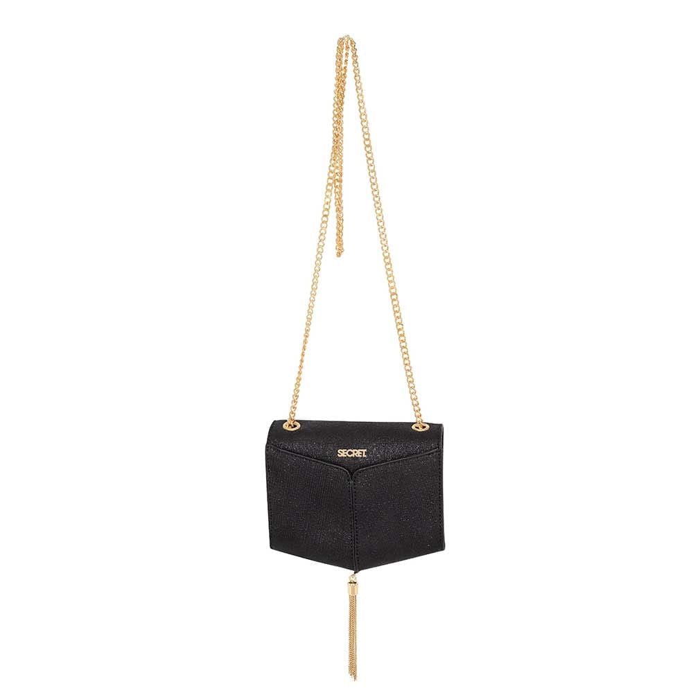 Cartera Monaco Ss20 Evening Crossbag Black Xs
