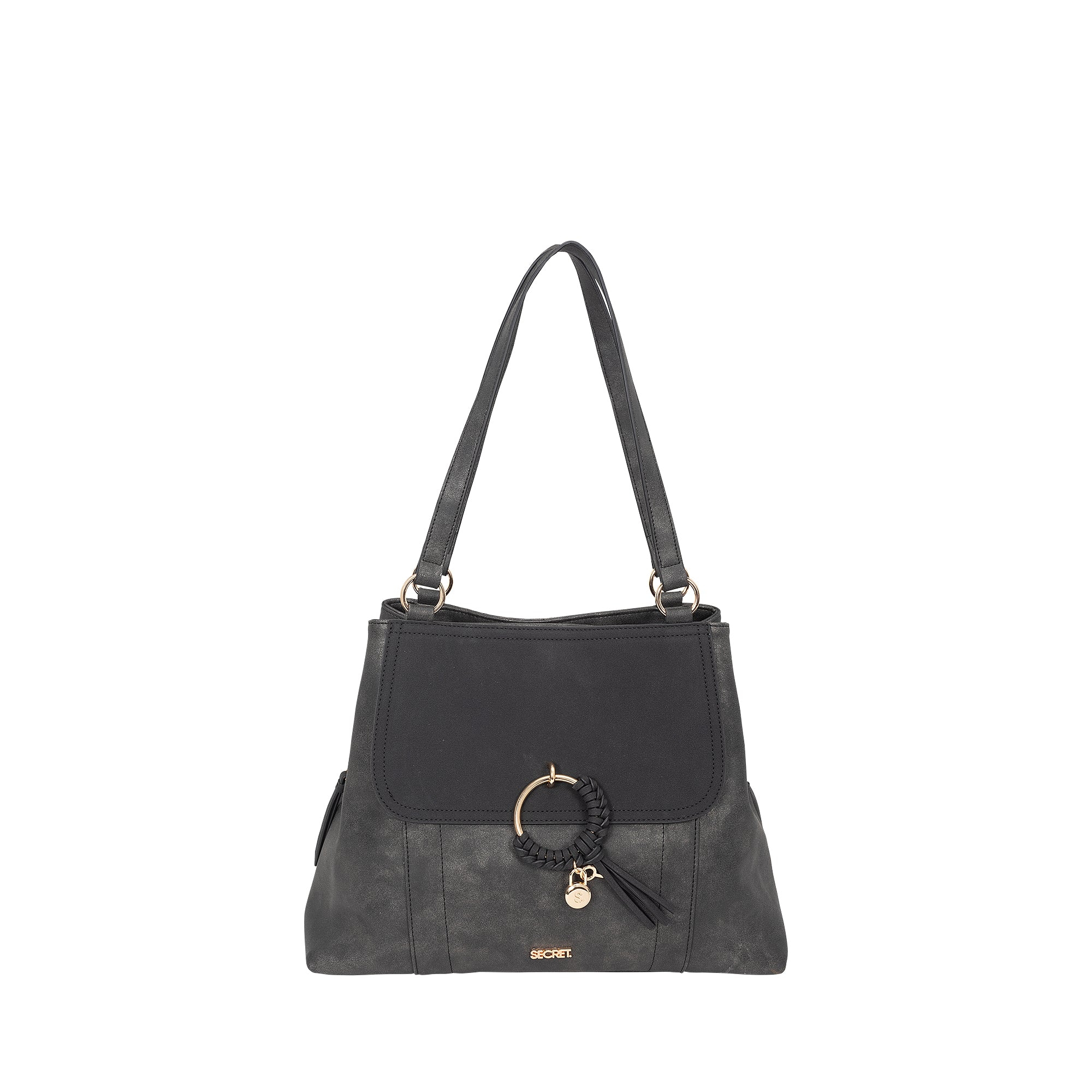 Cartera Japon Shoulder bag Black L 3DV
