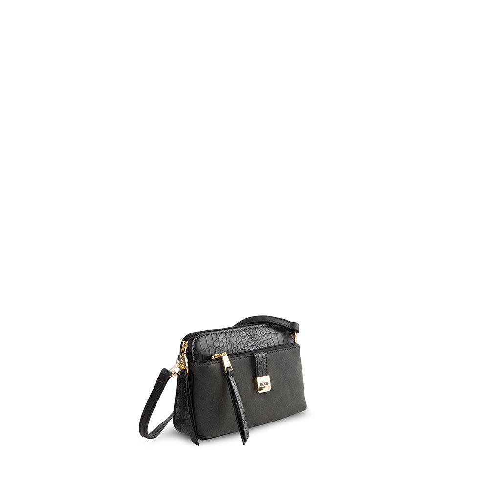 Cartera Visby Fw20 Cross Bag Black Xs