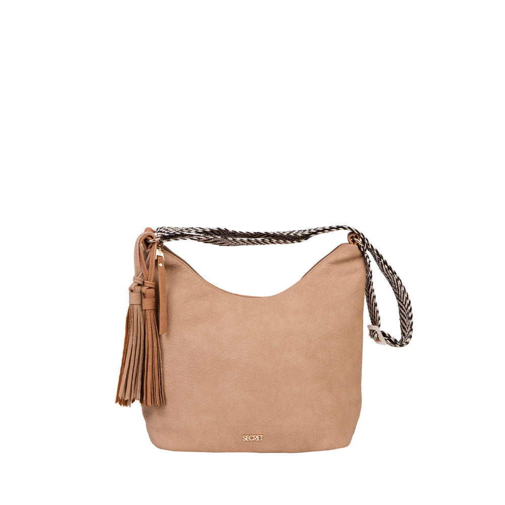 Cartera Malaui Cross Bag Natural L
