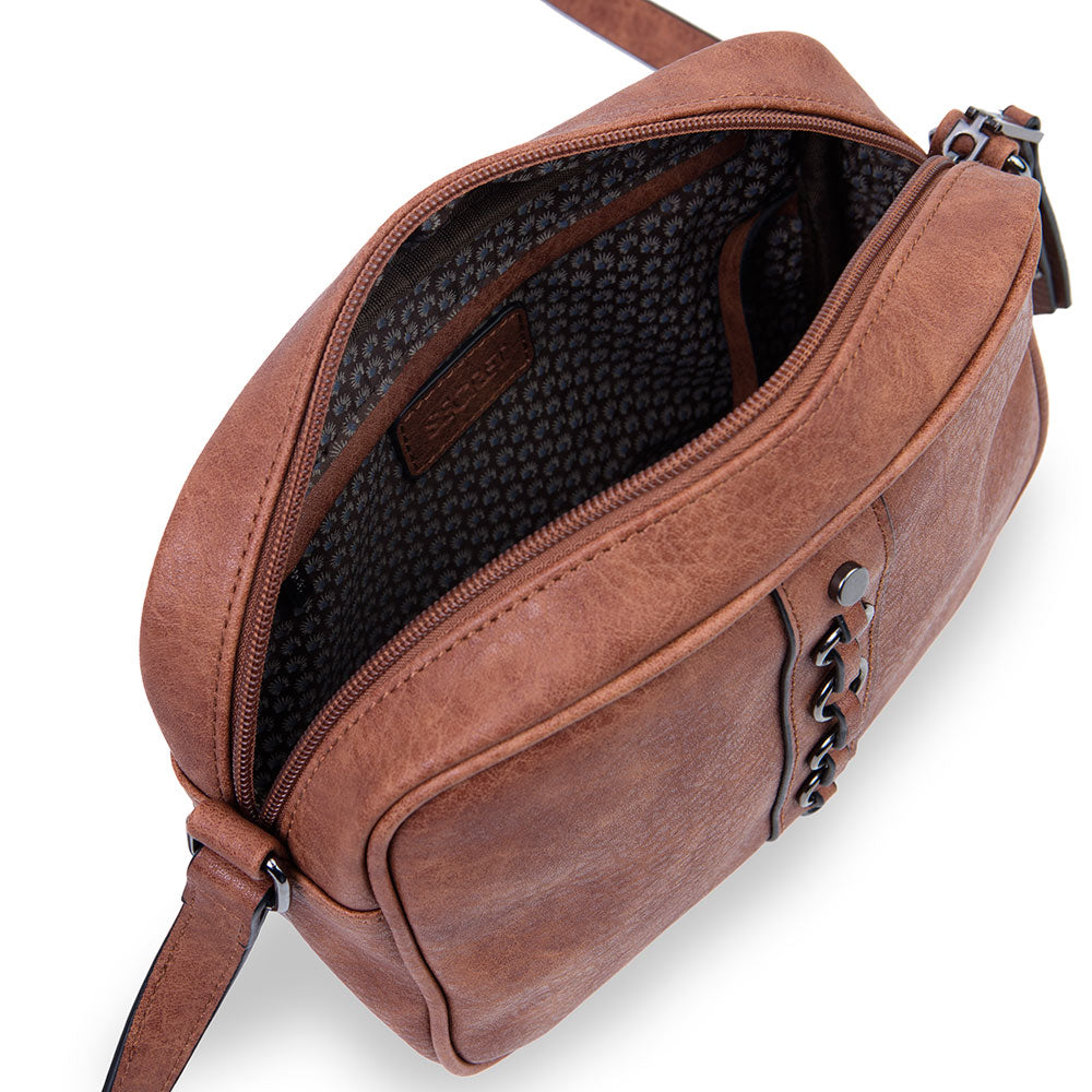Cartera Belfast Fw20 Cross Bag Medium Brown S