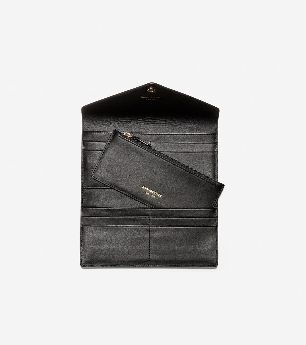 GRANDSERIES Flap Trifold Envelope Wallet