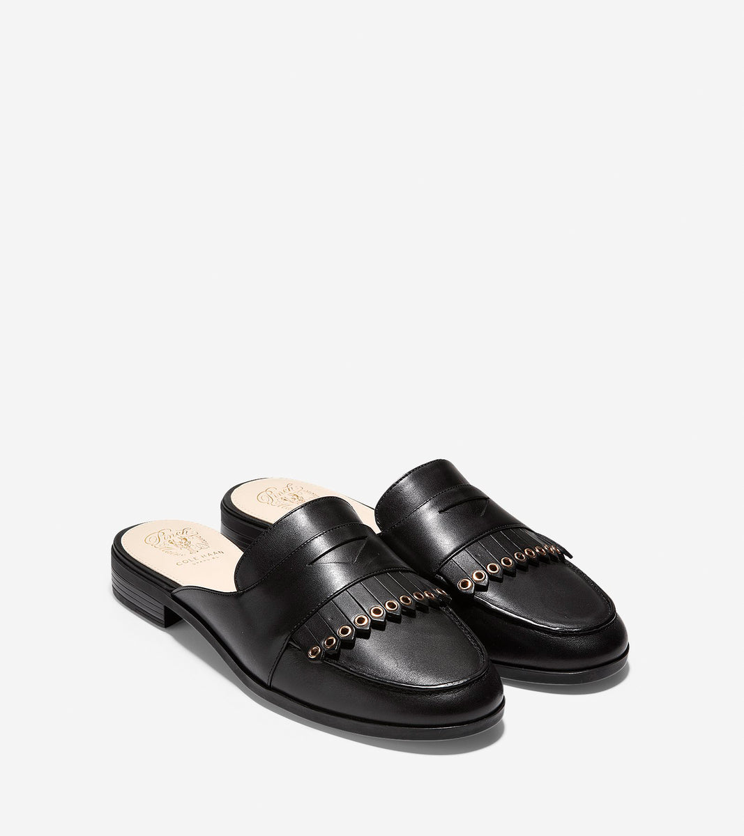 Pinch Kiltie Slide Loafer