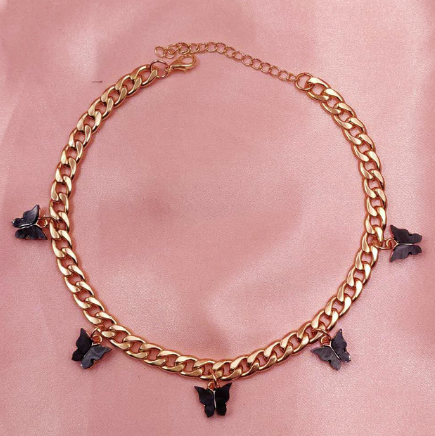 Black Butterfly Choker