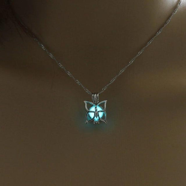 Butterfly Luminous Necklace
