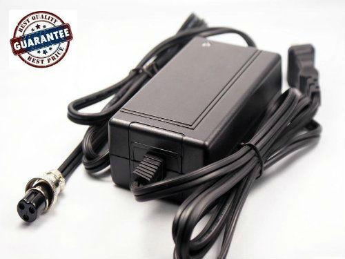 24V 2A Electric Scooter Battery Charger 3 Prong Inline