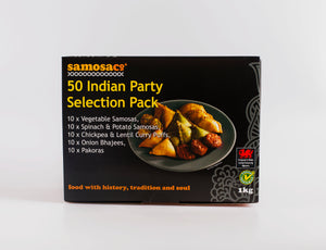 50 Indian Party Pack (1kg)