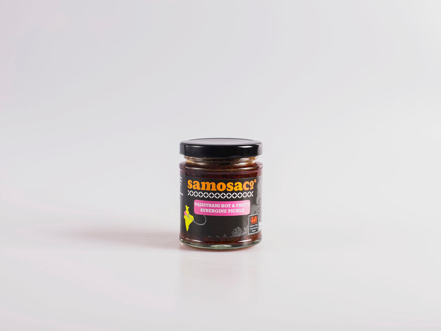 Rajasthani Hot & Fruity Aubergine Pickle 180g