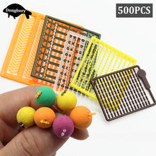 Load image into Gallery viewer, 5Set=500PCS Carp Fishing Accessories Micro Bait Stopper Boillies Bait Stop Bead Carp Bait Holder for Hair Rig Tackle Accessories