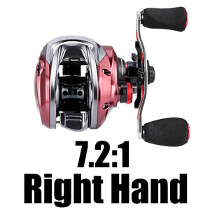 SeaKnight RED FOX 7.2:1 Micro Centrifugal Brake System Baitcasting Reel 192g Ultra-light Fishing Reel Short Shaft Spool 2020 NEW