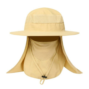 Outdoor Lasting Sweat-Proof Visor Neck Cover Cap Portable Fishing Accessories Fishing Caps Apparel