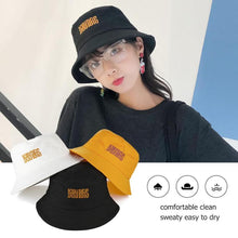 Load image into Gallery viewer, Bucket Hat Letter Summer Unisex Hip Hop Outdoor Travel Fisherman Sun Caps Fishing Apparel Fishing Caps Fish Tackle Pesca Mujer