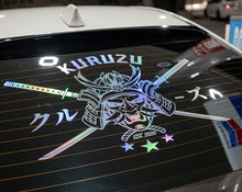 Load image into Gallery viewer, クルーズ SAMURAI REAR WINDOW DECAL XL
