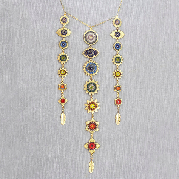 Collar Chakras Triple 015
