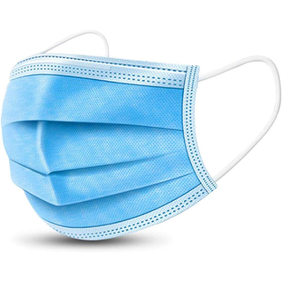 Blue Surgical Mask 3-Ply (10 Pack)