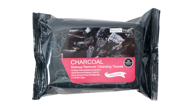 Charcoal Makeup Remover Cleansing Tissues