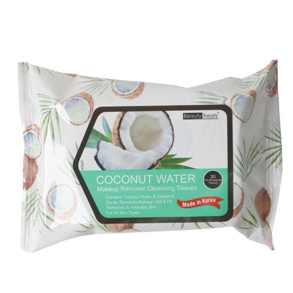Coconut Water Makeup Remover Cleansing Tissues