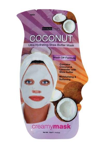ULTRA HYDRATING COCONUT & SHEA BUTTER MASK