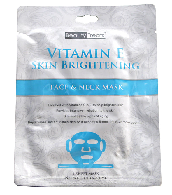 Vitamin E Skin Brightening Face & Neck Mask