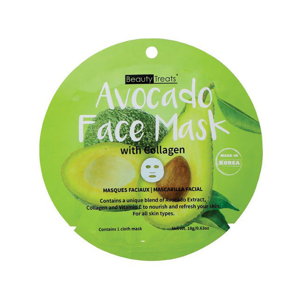 Avocado Face Mask with Collagen