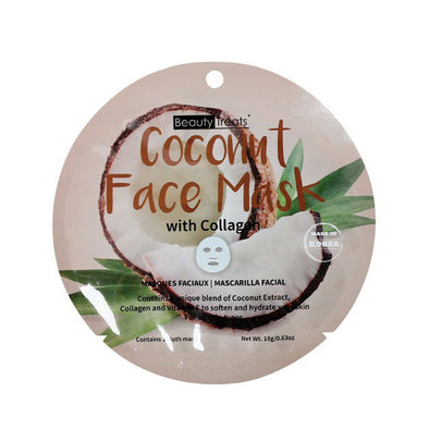 Coconut Face Mask with Collagen