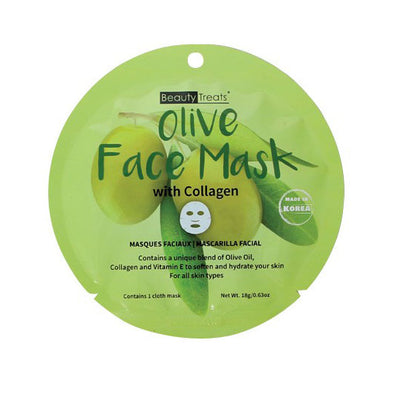 OLIVE FACE MASK WITH COLLAGEN
