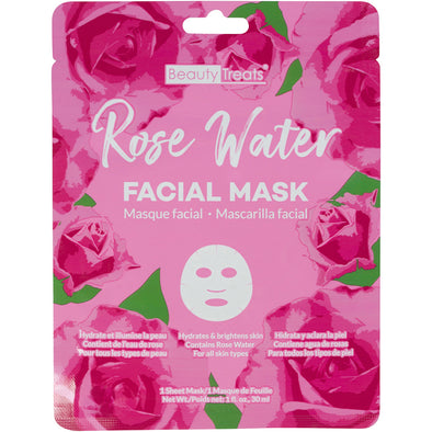 Rose Water Facial Mask