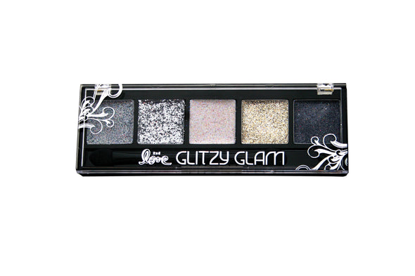 2ND LOVE GLITZY GLAM GLITTER PALETTE