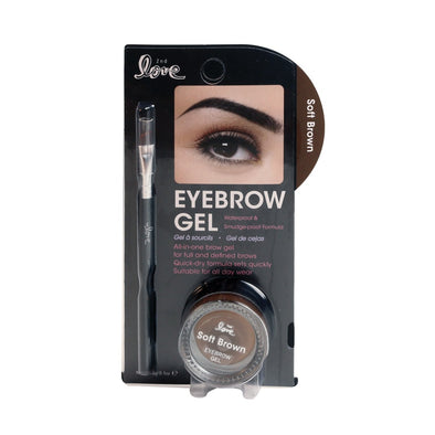 2nd Love Eyebrow Gel with Brush - Soft Brown