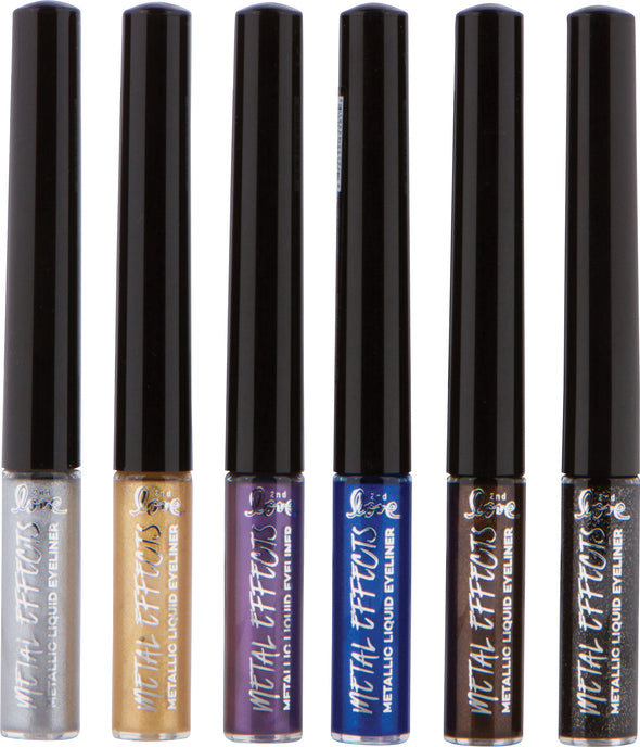 METAL EFFECTS METALLIC LIQUID EYELINER
