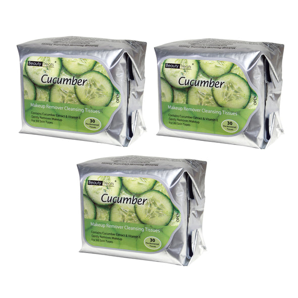 Cucumber Makeup Remover Tissue Bundle