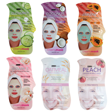 Creamy Face Mask Bundle