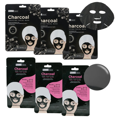 Charcoal Face Mask Bundle