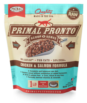 AQ20 Primal Pronto Cat Chicken 12oz
