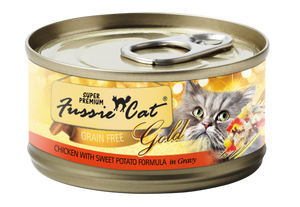 4001 FC Fussie Cat Chicken w/ Sweet Potato Can 2.8oz