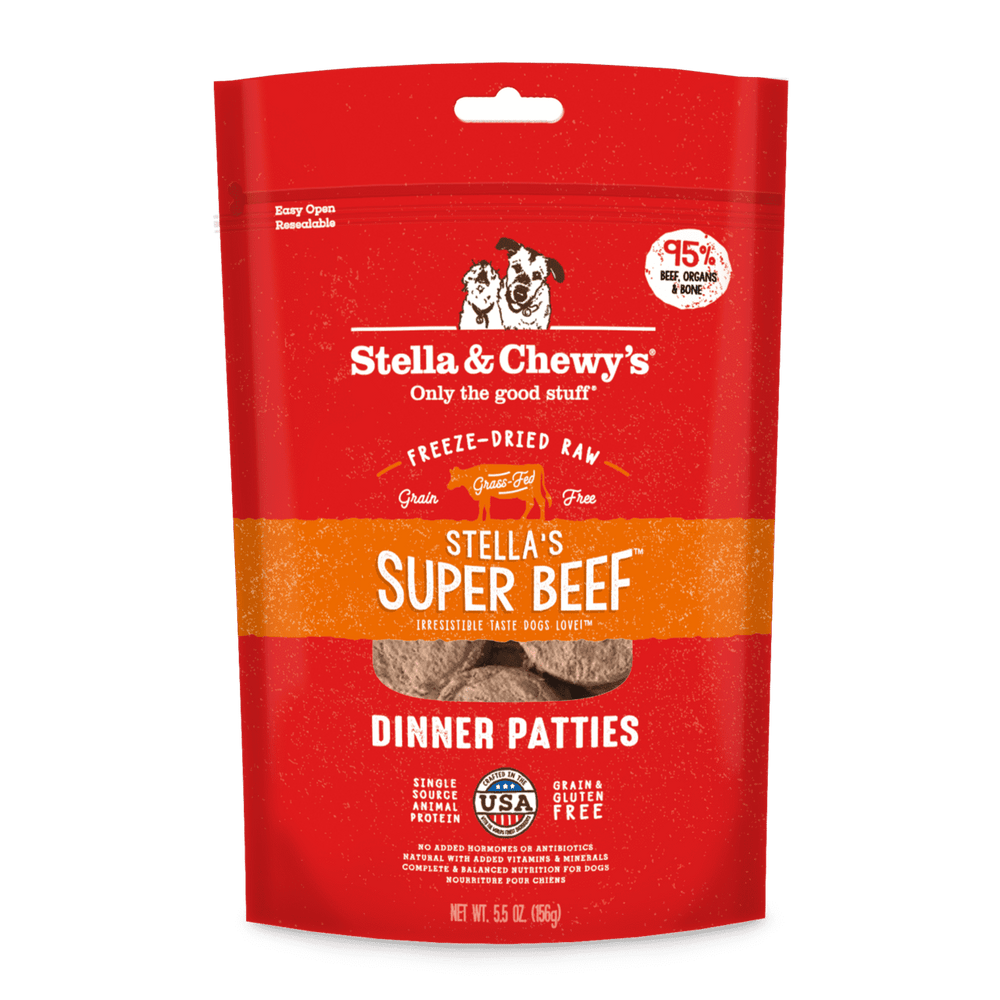 Stella's Super Beef Dinner Patties