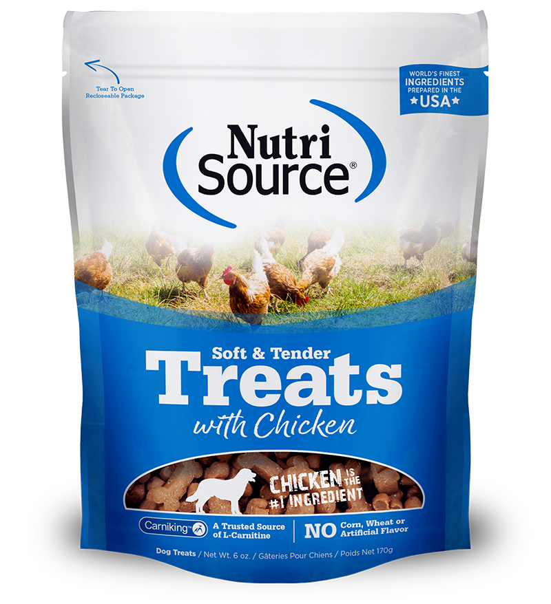 Soft & Tender Treats with Chicken