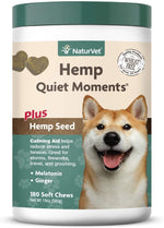 NaturVet Hemp Quiet Moments 180