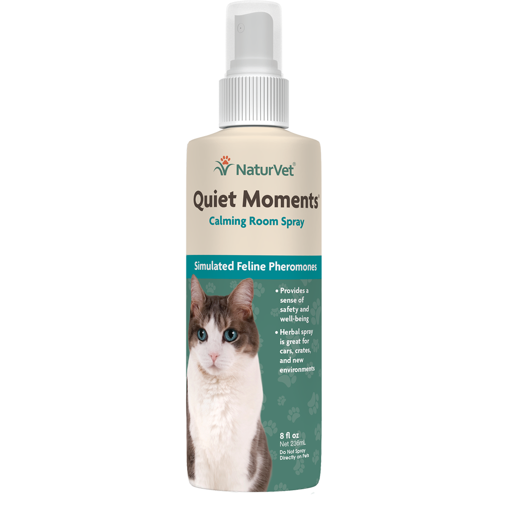 NaturVet Quiet Moments Calming Spray Cat